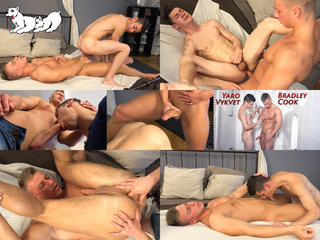Click to see Full Size Image of Bradley Cook and Jaro Vykvet